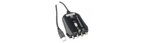 Interface et convertisseur PHONO LINE USB